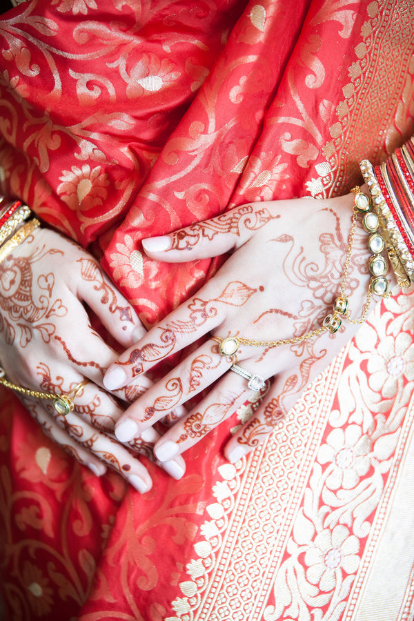 Henna | A Vibrant Indian Fusion Wedding | Kate Aspen