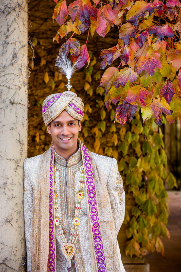 Indian Groom | Hilary Cam Photography