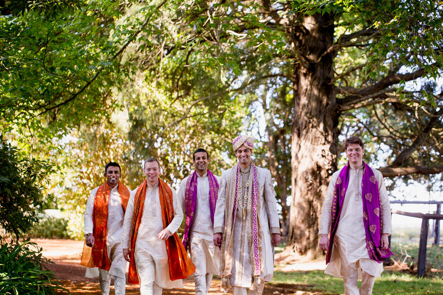Indian Wedding Groomsmen | Hilary Cam Photography