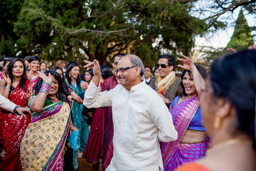 Indian Wedding Baraat | Hilary Cam Photography