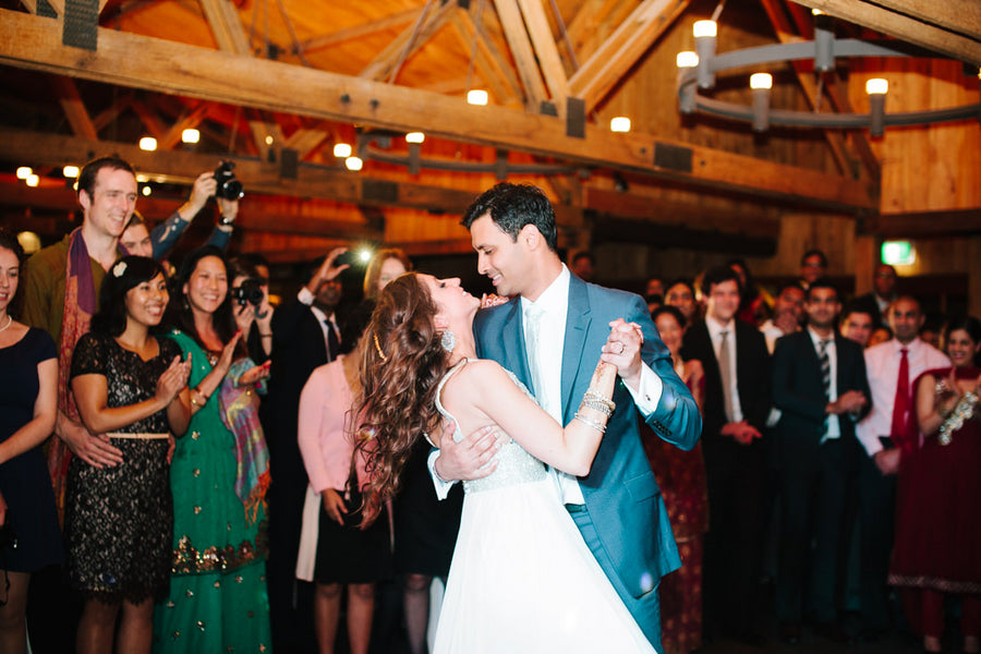 Fusion Indian Wedding First Dance | Hilary Cam Photography