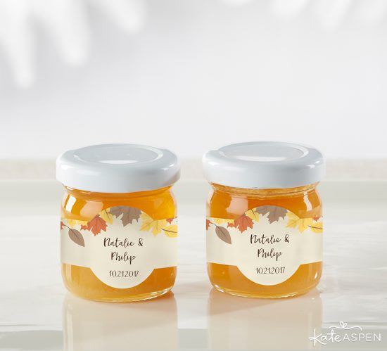 Personalized Clover Honey - Fall Leaves