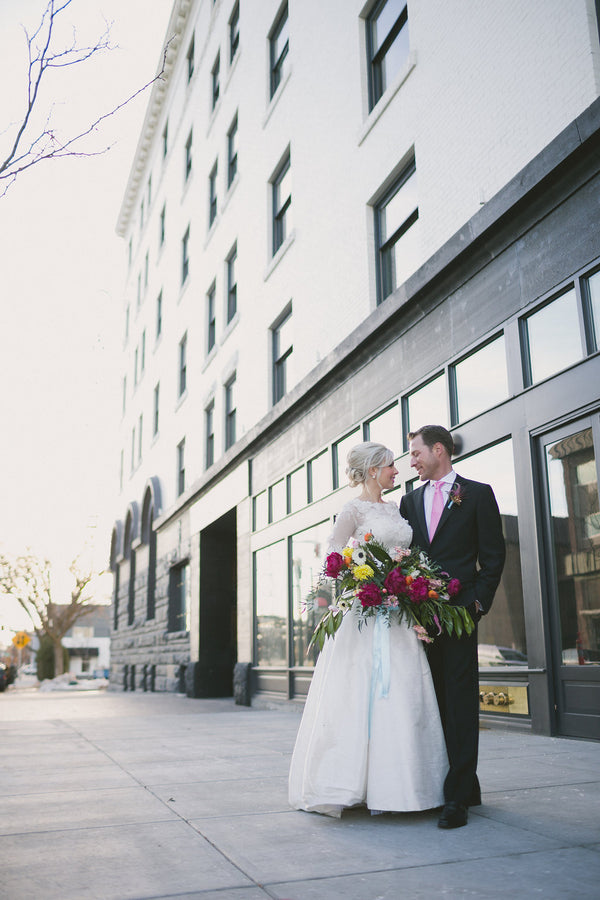 Downtown Boise Wedding | Copyright Ampersand Studios 2014
