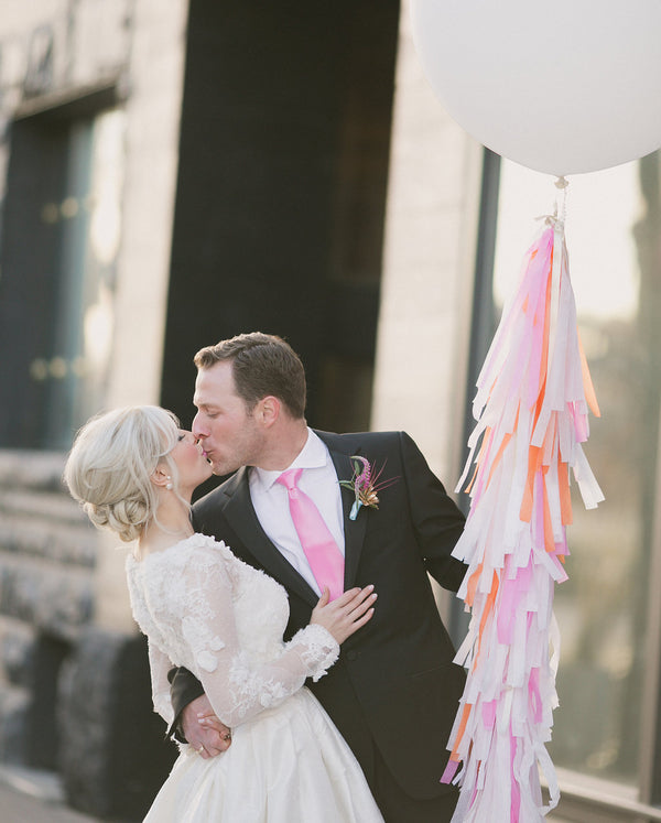 Giant tassel balloon | Copyright Ampersand Studios 2014