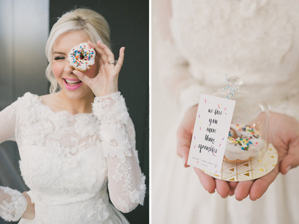 Donut Wedding Favors | Copyright Ampersand Studios 2014