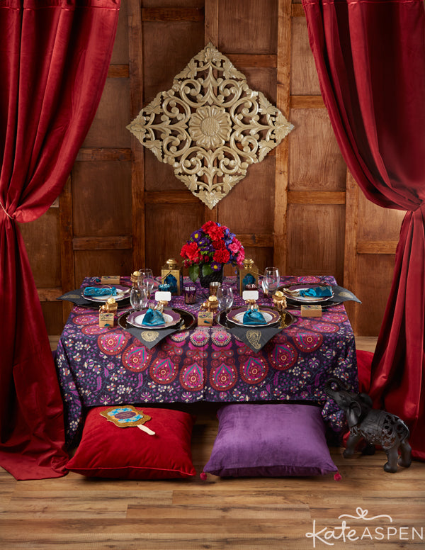 Jewel Tone Indian Wedding Ideas from Kate Aspen