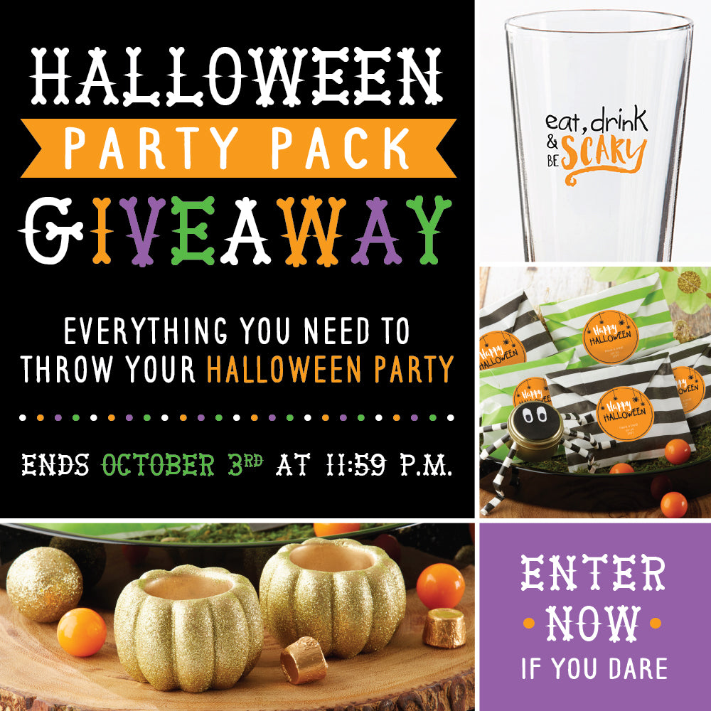 Enter Now! | Halloween Party Pack Giveaway | Kate Aspen