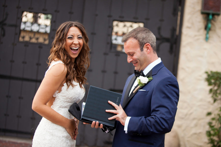 Little Black Book | Beautiful Outdoor Jewish Wedding | Kate Aspen