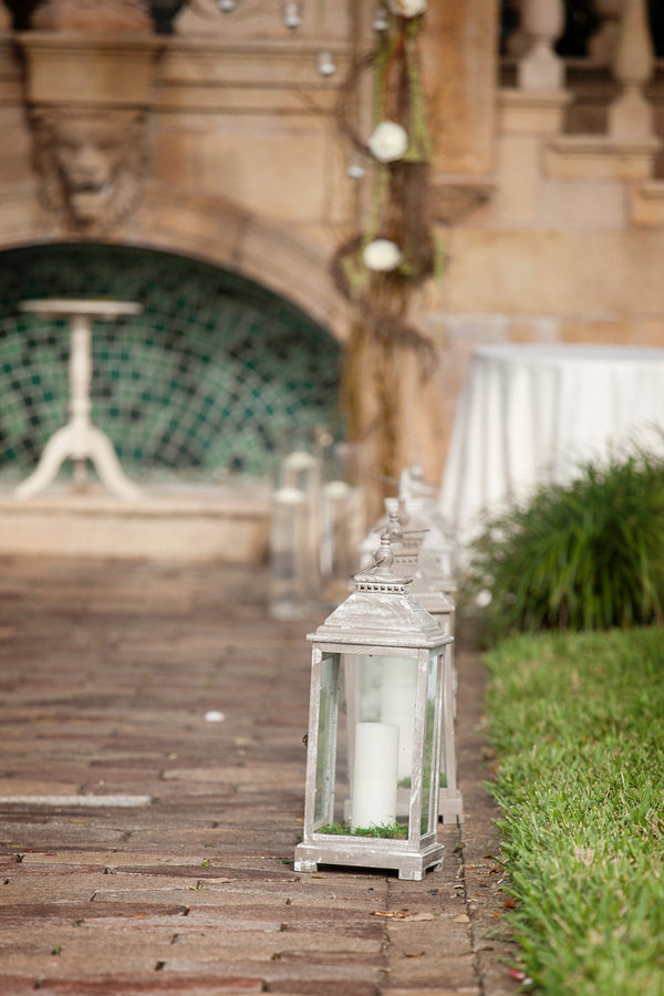 Lanterns | Beautiful Outdoor Jewish Wedding | Kate Aspen