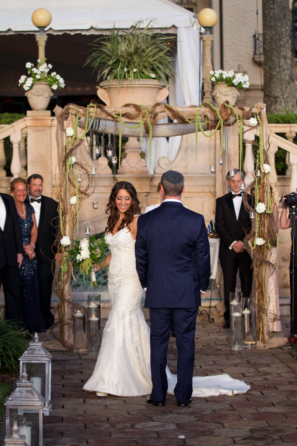 Chuppah | Beautiful Outdoor Jewish Wedding | Kate Aspen