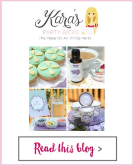 Kara's Party Ideas - Spa Party: Lace Votive Holders