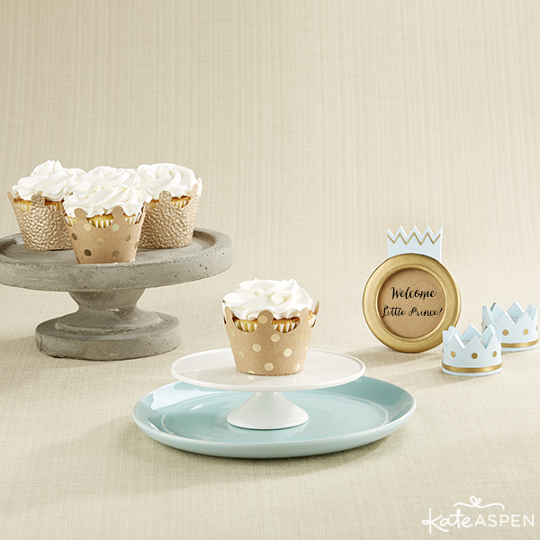 Kate Aspen Crown Cupcake Wrappers and Prince Collection