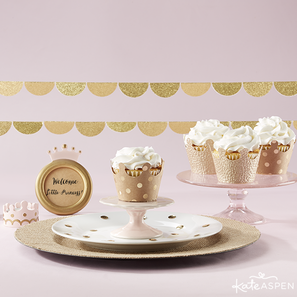 Kate Aspen Crown Cupcake Wrappers and Princess Collection 2