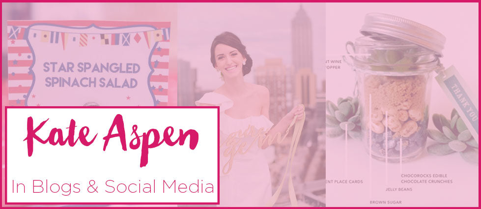 Kate Aspen in Blogs and Social Media