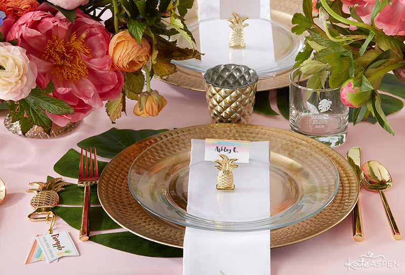 Tropical Table Setting | Party Trends | Kate Aspen