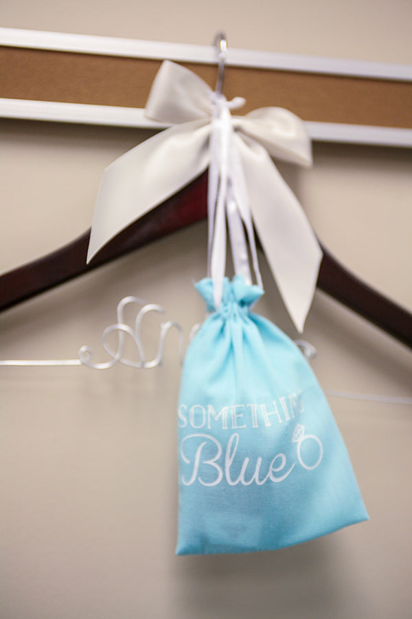 Kate Aspen Blue Favor Bags | Wes Roberts Photography