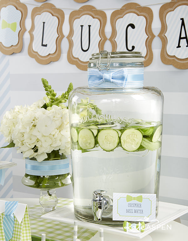 Little Man Themed Baby Shower by Kate Aspen | Little Man Birthday Party Ideas by Kate Aspen
