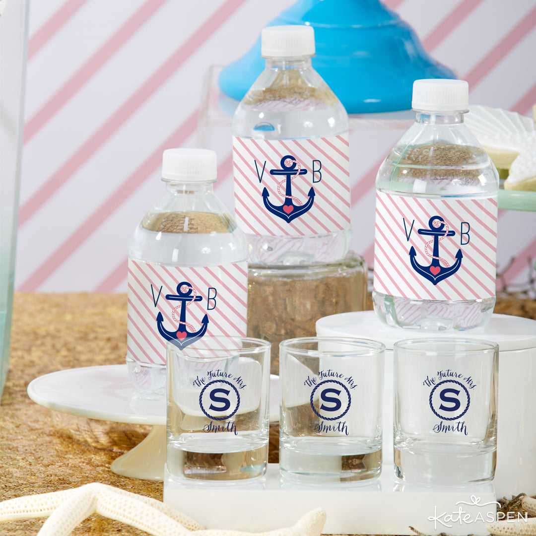 Water Bottles | Last Sail Before the Veil | Bachelorette Party