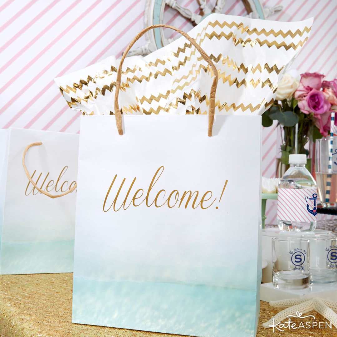 Welcome Bags | Last Sail Before the Veil | Bachelorette Party