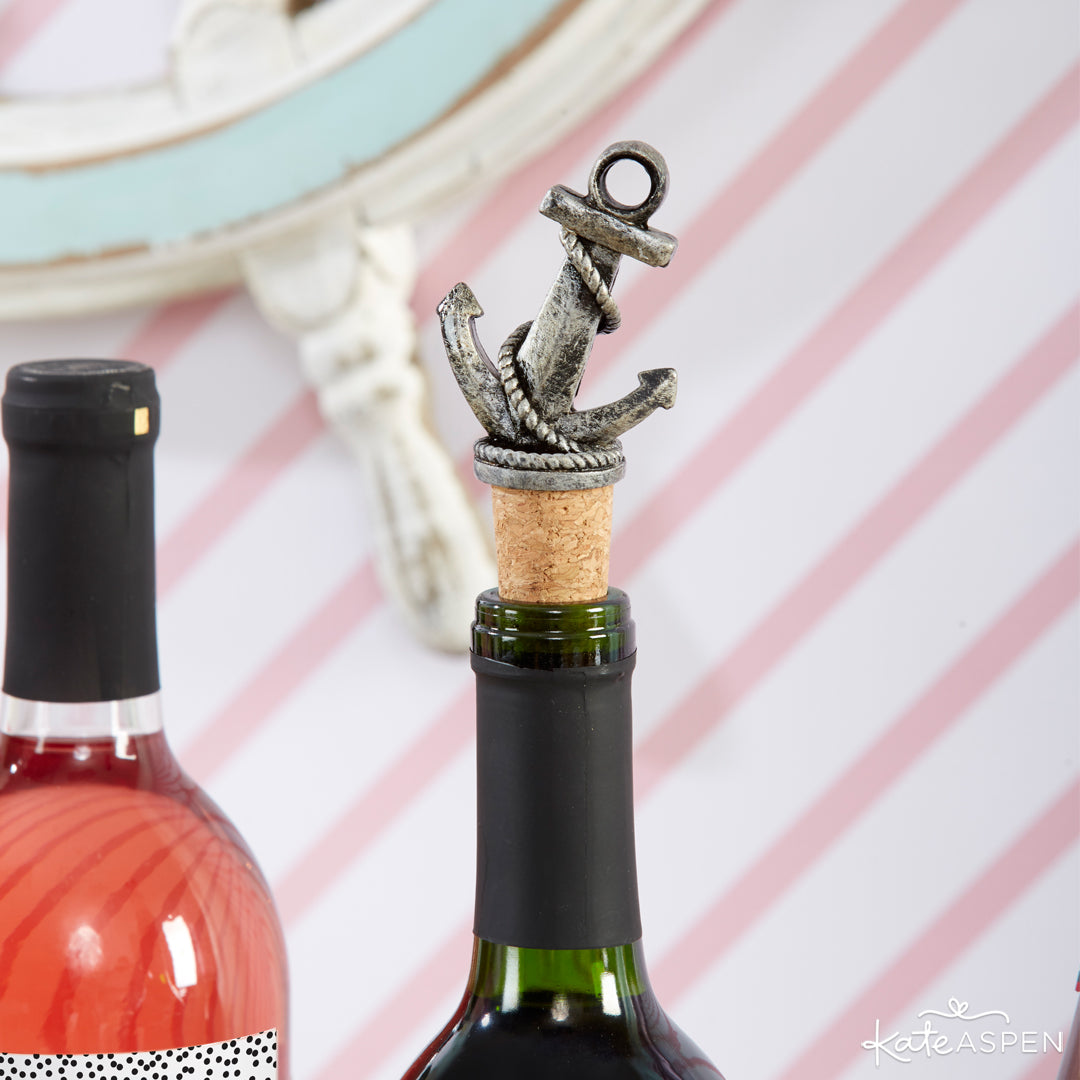 Wine Bottle Stopper | Last Sail Before the Veil | Bachelorette Party