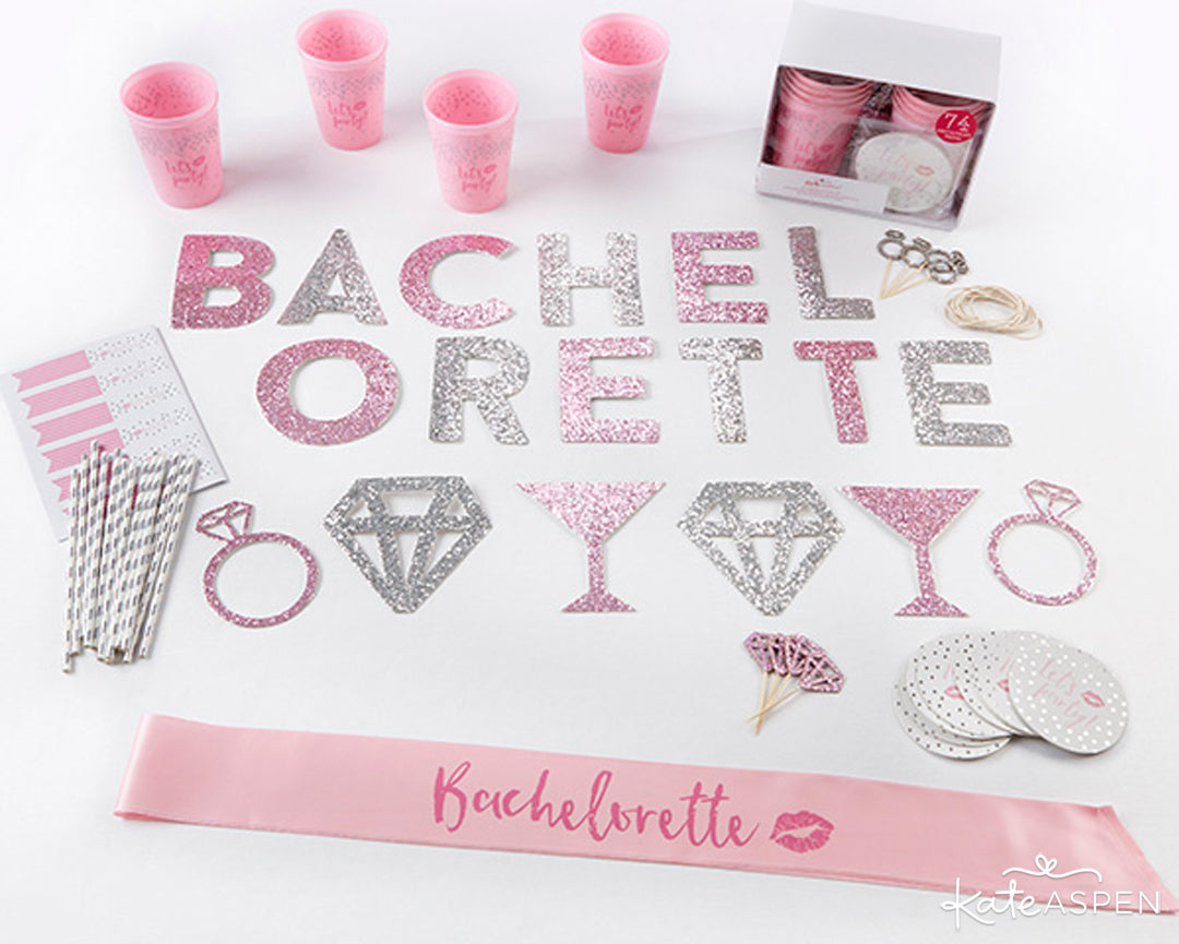 Let's Party Bachelorette Party Kit | 5 Essential Bachelorette Party Kits | Kate Aspen