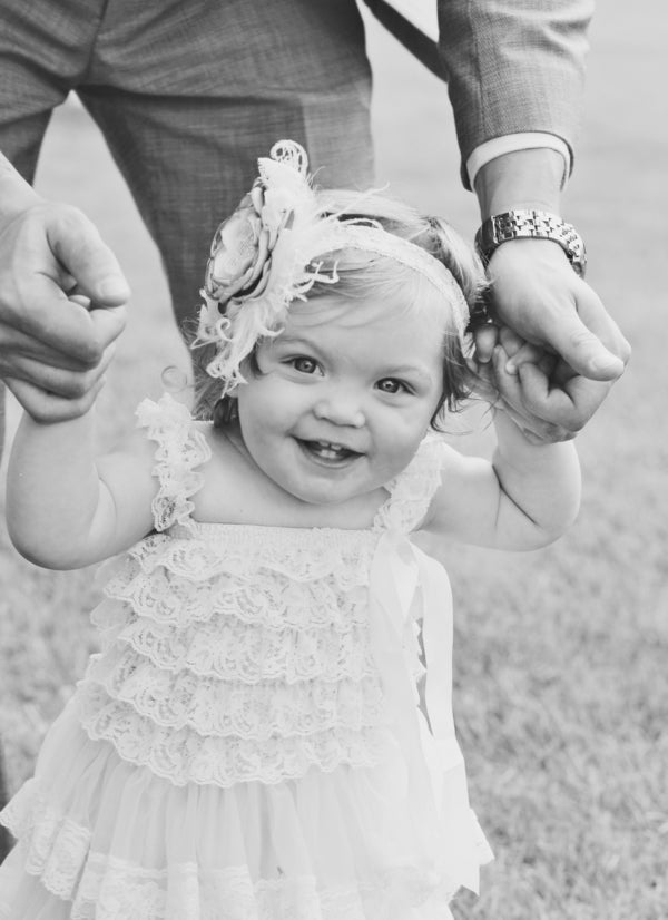 Cute Flower Girl | Laura Dee Photography