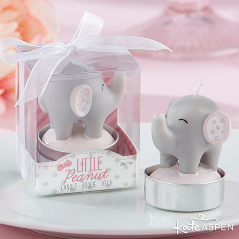 Elephant Candle Favors | Kate Aspen