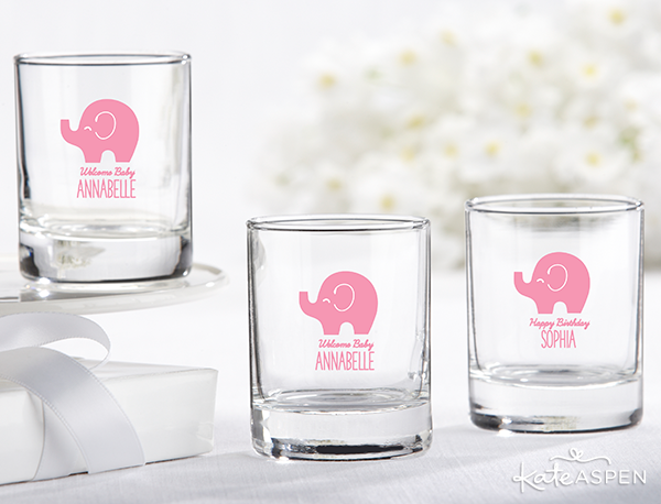 Elephant Votive Holder Shot Glass | Kate Aspen