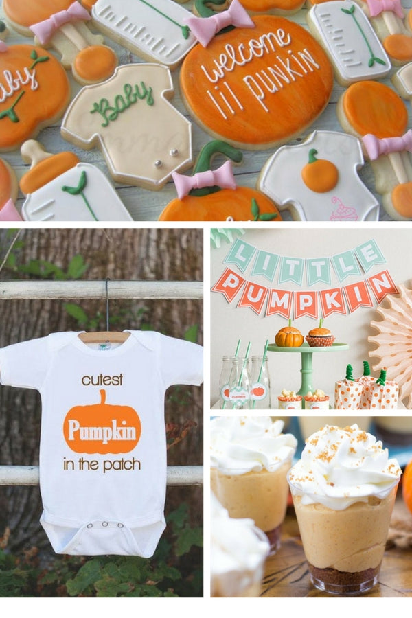 Little Pumpkin Baby Shower | 10 Unique and Interesting Baby Shower Themes | Kate Aspen