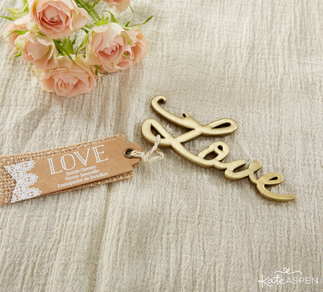 """Love"" Bottle Opener 