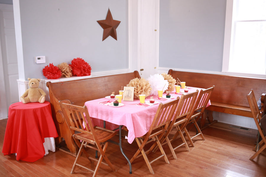 Main Table| Winnie the Pooh First Birthday Party | Whit Meza Photography