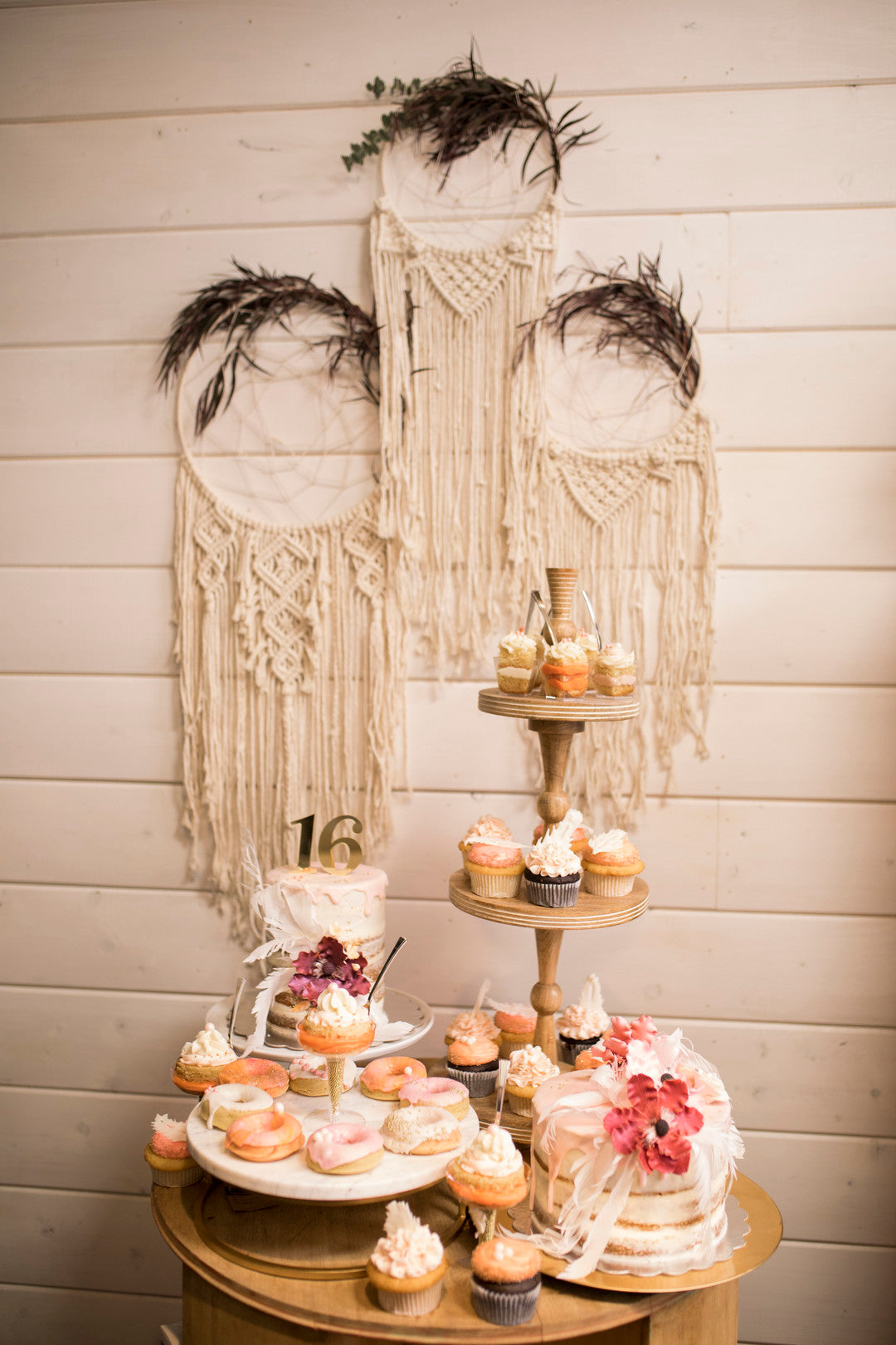 Dessert Table | A Super Bohemian Sweet 16 Soiree | Kate Aspen