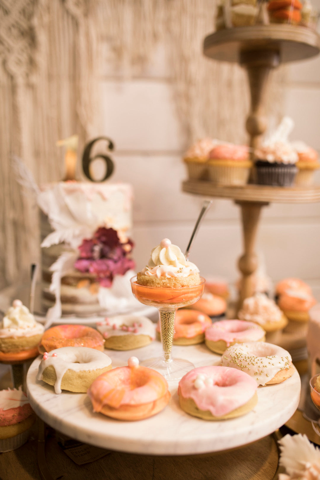 Doughnuts | A Super Bohemian Sweet 16 Soiree | Kate Aspen
