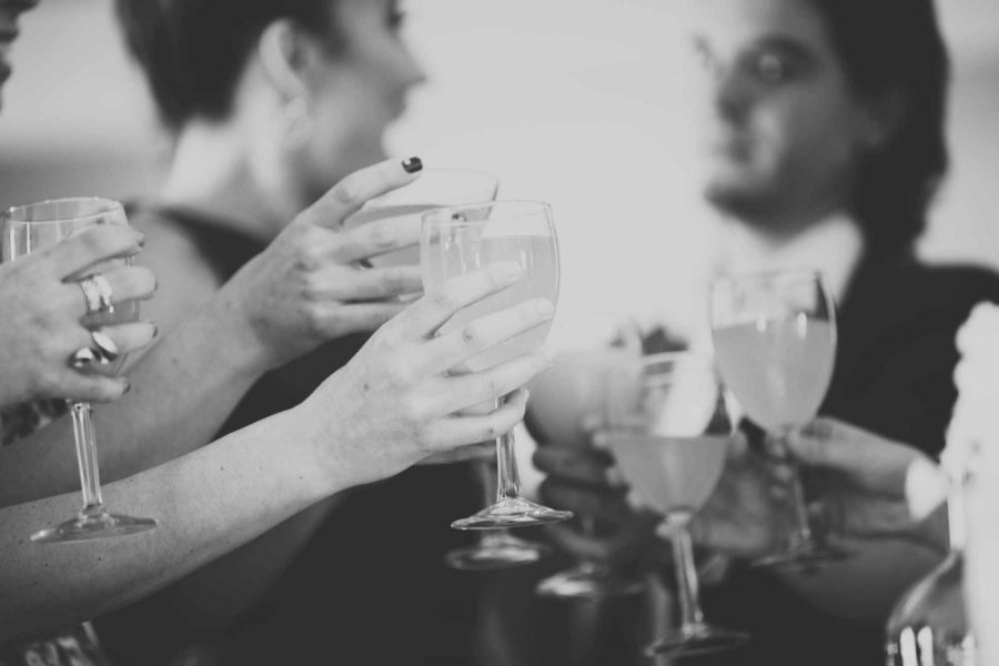 Making a Toast | Laura Dee Photography