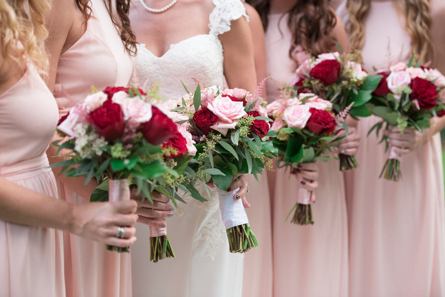 Bridal Bouquet | An Elegant Rose Colored Wedding | Corner House Photography | Kate Aspen