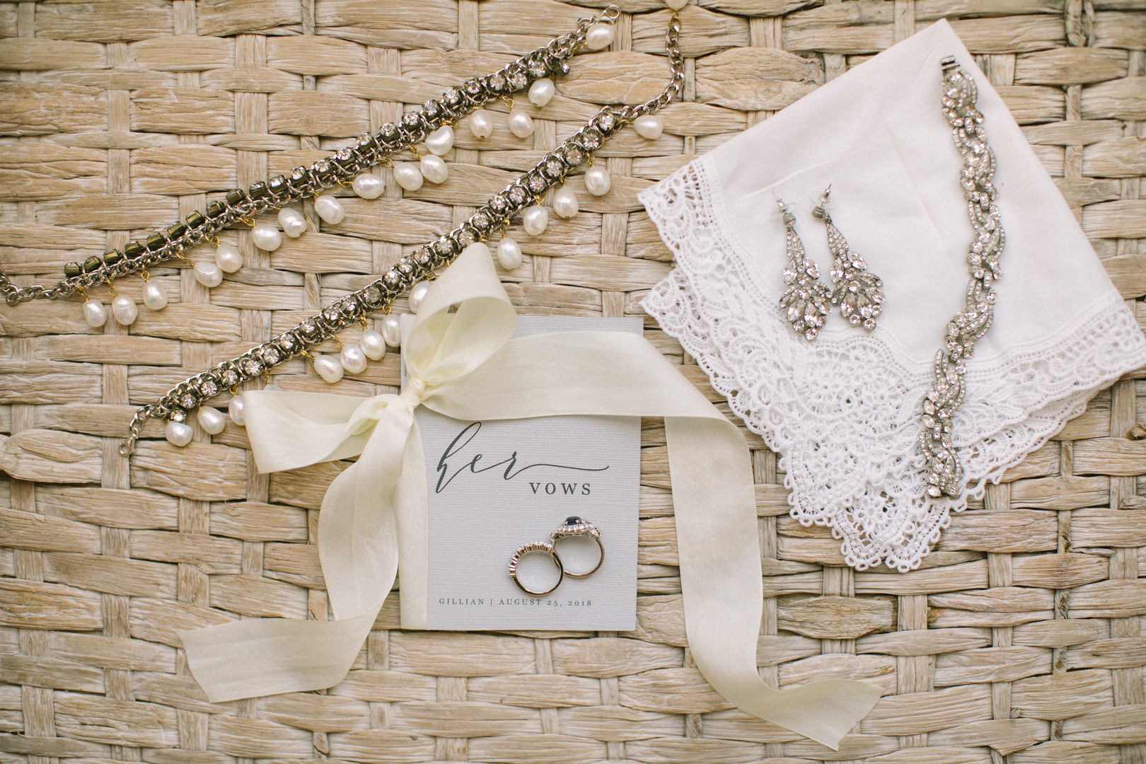 Bride's Jewelry | A Dreamy Destination Wedding at St. Thomas | Kate Aspen