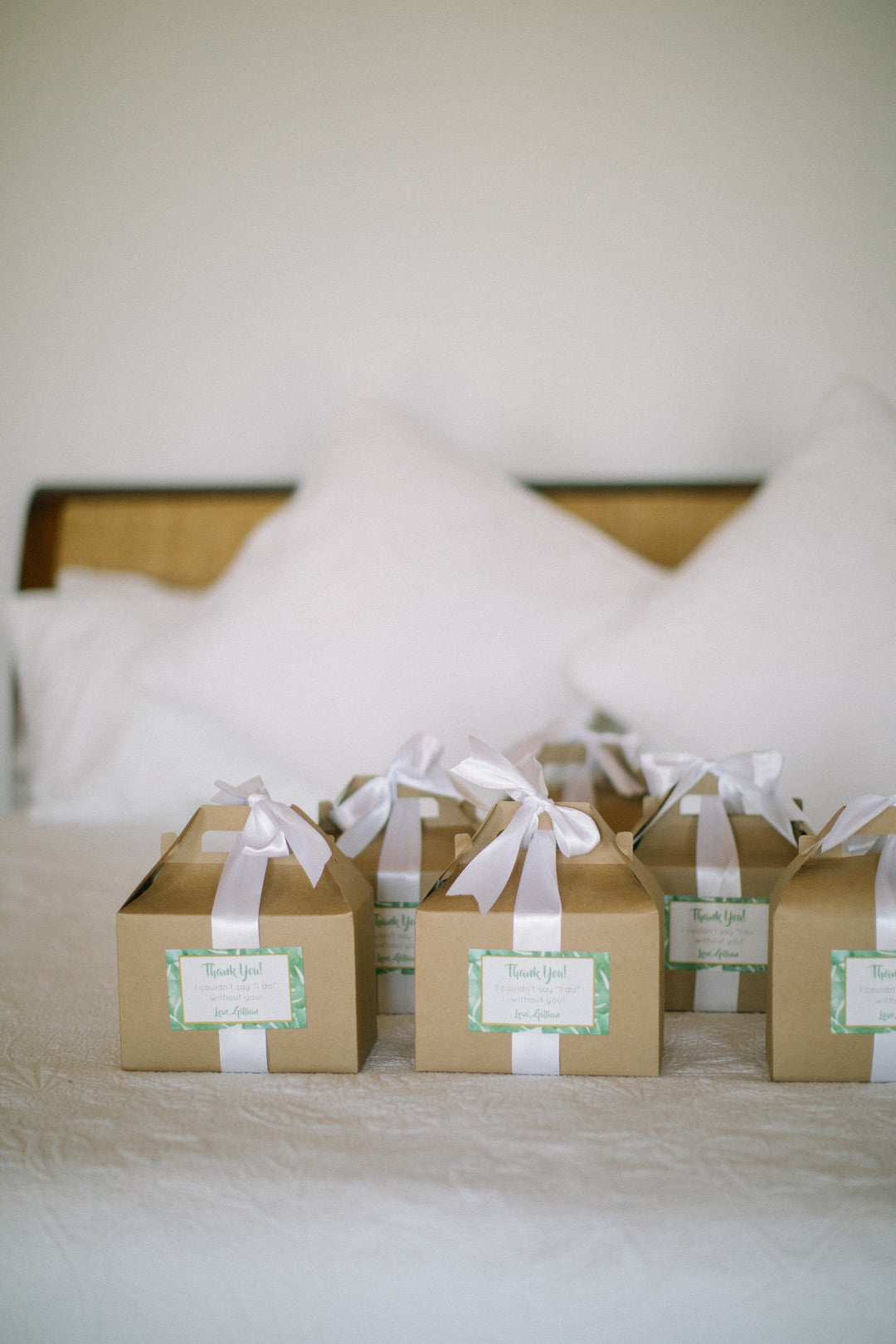 Favor Boxes | A Dreamy Destination Wedding at St. Thomas | Kate Aspen