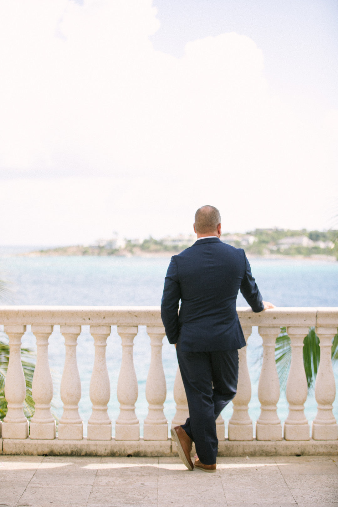 Groom | A Dreamy Destination Wedding at St. Thomas | Kate Aspen
