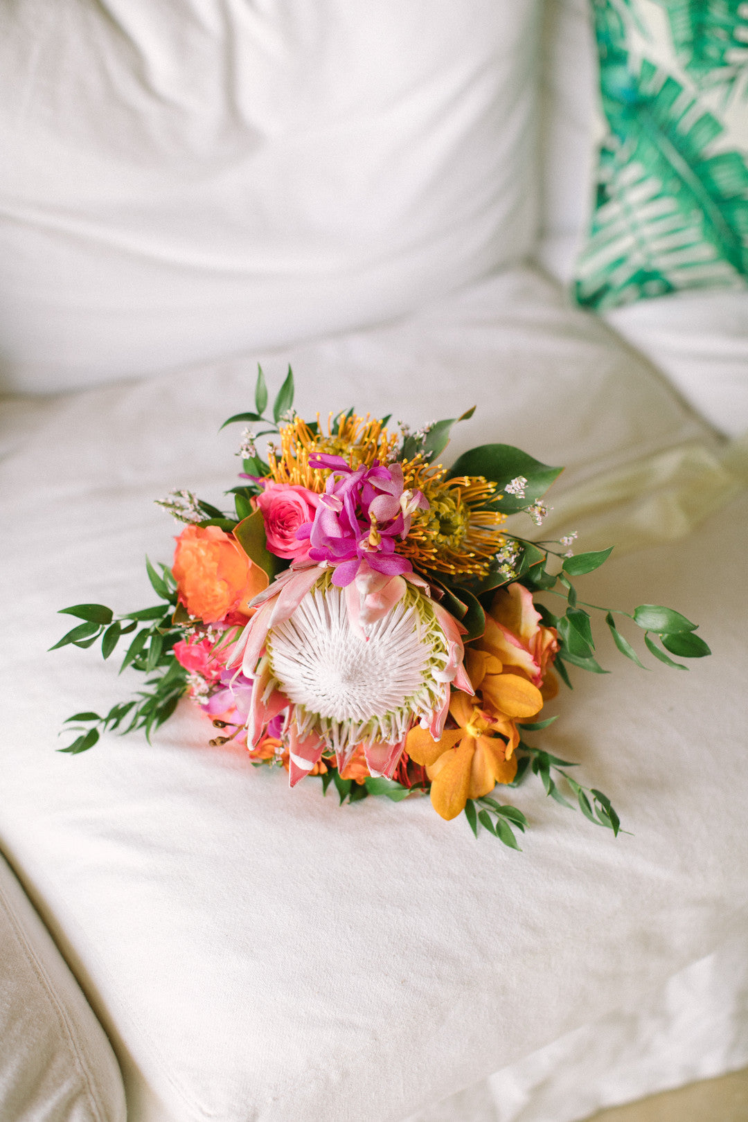 Floral Bouquet | A Dreamy Destination Wedding at St. Thomas | Kate Aspen
