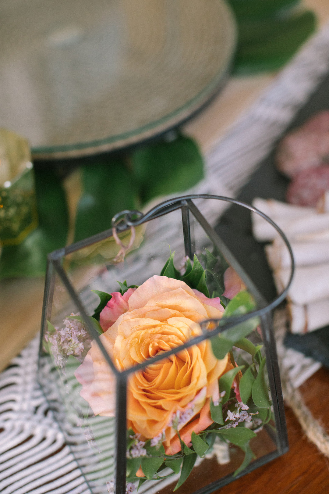 Table Decor | A Dreamy Destination Wedding at St. Thomas | Kate Aspen