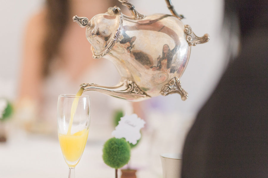 Bridal Shower Mimosas | Lavender Kitchen Themed Bridal Shower Captured by Irving Photography