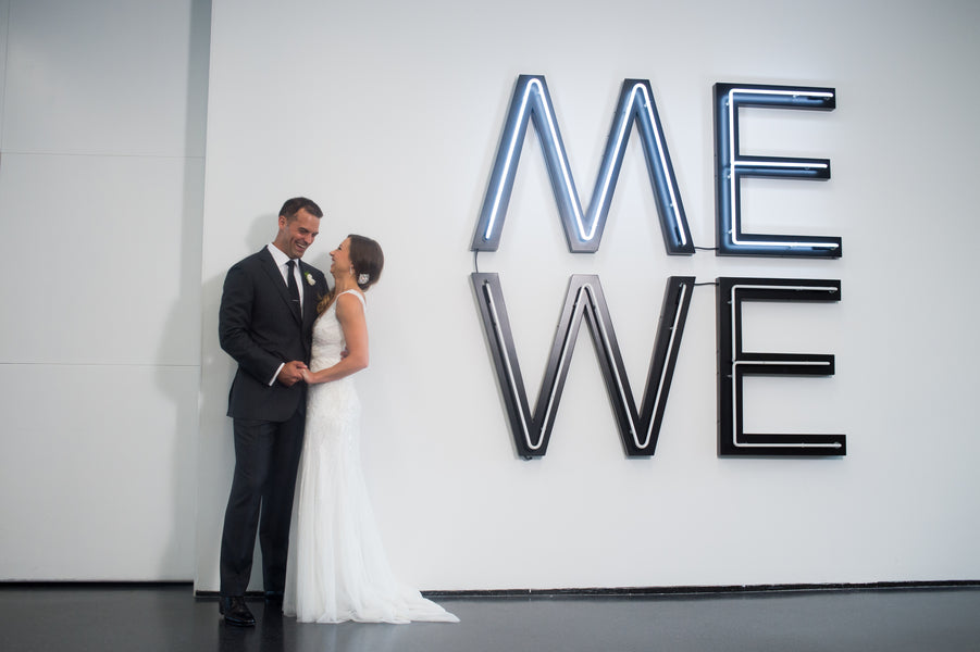 Me and We | Modern Museum Wedding in Chicago | Candice C Cusic Photography