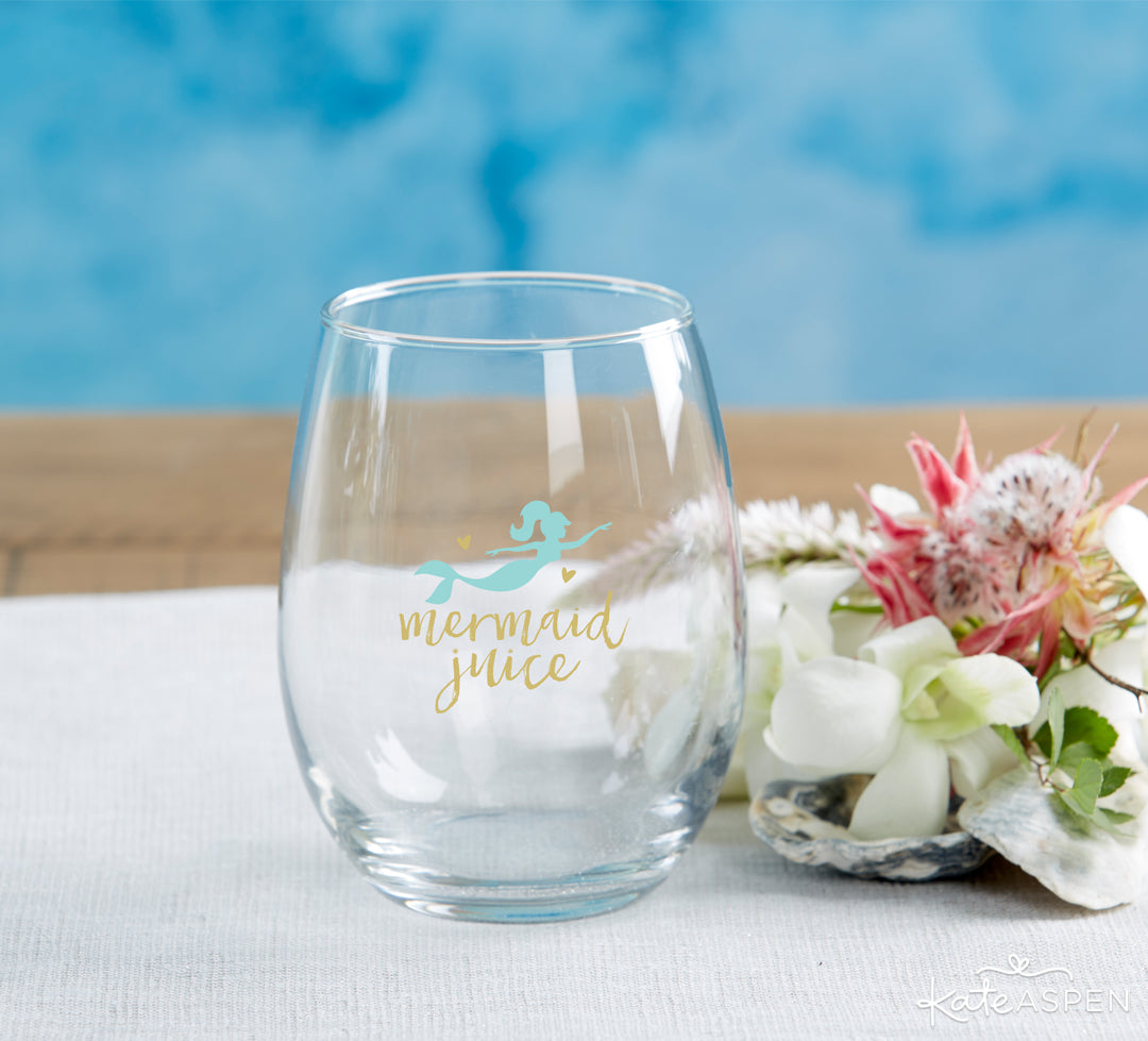 Mermaid Juice | 10 Coastal Favors & Decor For A Seaside Escape | Kate Aspen