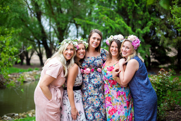 Mother To Be And Friends | A Magical Pink Baby Shower | Kate Aspen
