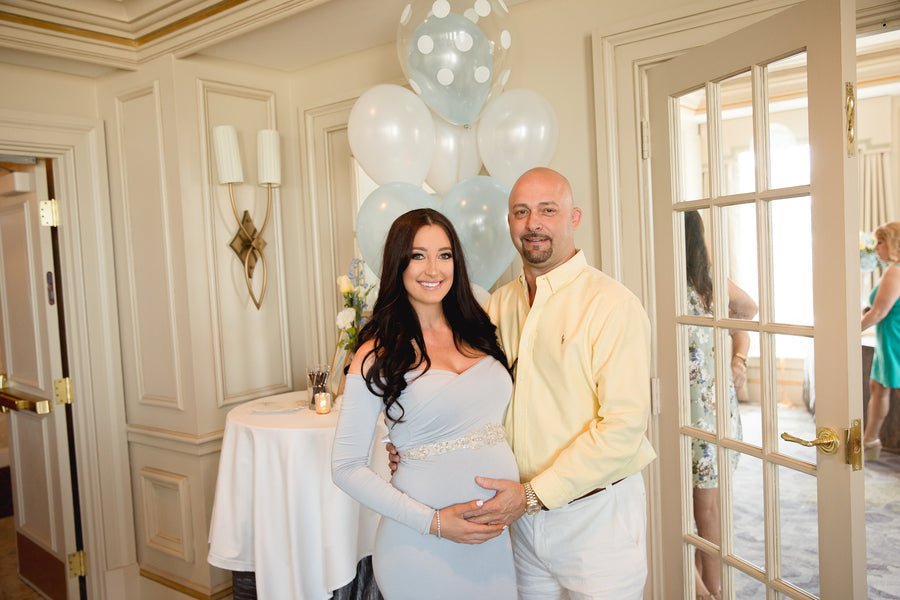 Mother and Father | An Up Up & Away Baby Shower | Kate Aspen