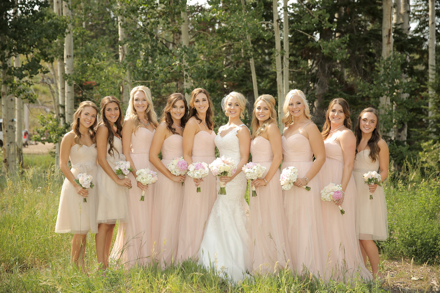 Bridesmaid Dresses | Mountain Wedding | Pepper Nix Photography
