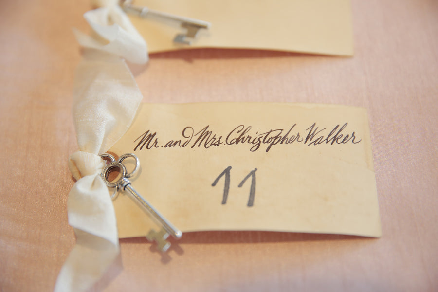 Escort Cards | Mountain Wedding | Pepper Nix Photography