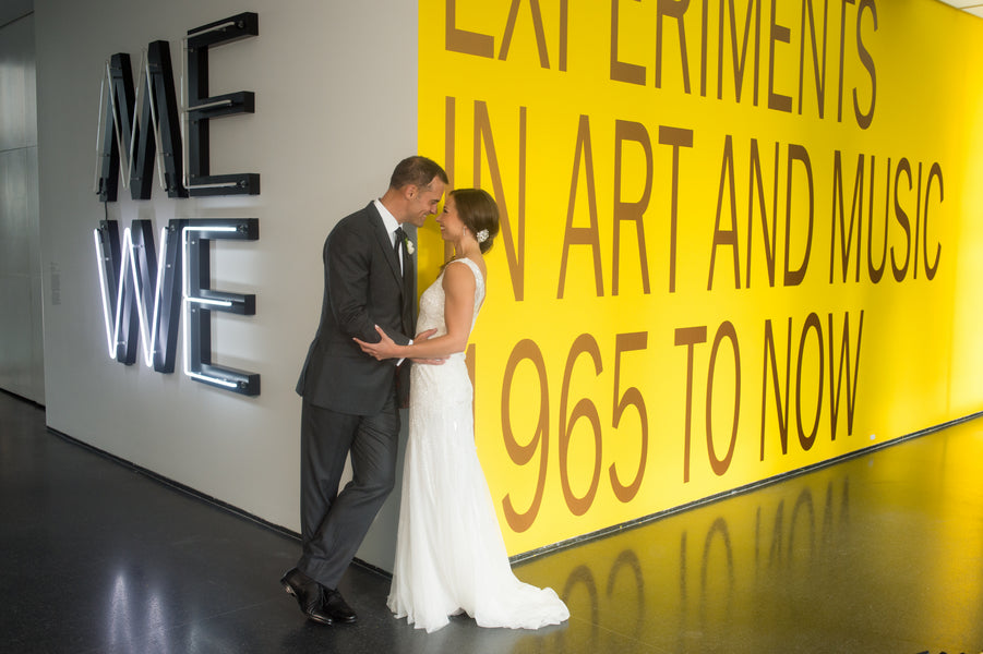 A Modern Museum Wedding in Chicago | Candice C Cusic Photography