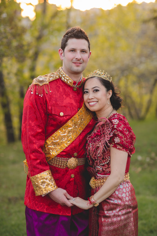 Cambodian Fusion | ENV Photography| 10 Showstopping Wedding Dresses