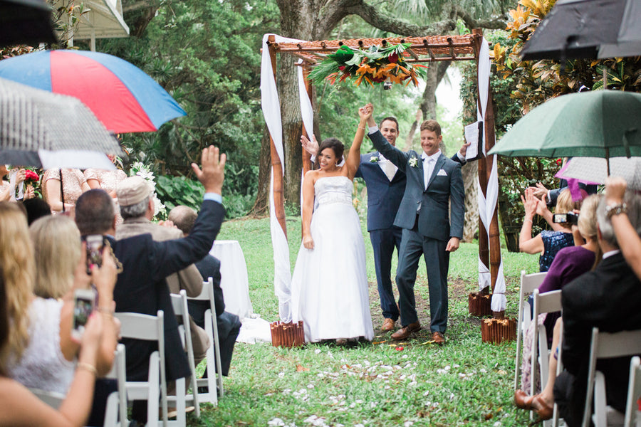 Officially Married | Southern Charm Meets Tropical Paradise | Kristen Browning Photography